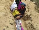 Thêm cá hố rồng dài 4m chết dạt vào bờ biển Quảng Bình