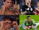 Cư dân mạng chế ảnh mỉa mai De Gea yếu bóng vía trước Ronaldo