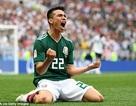 Lozano nói gì sau khi chọc thủng lưới đội tuyển Đức?