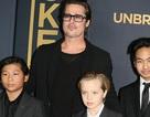 Brad Pitt hạnh phúc khi được gặp con trong ngày của Cha