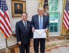 """Điểm """"lạ"""" của bức thư ông Kim Jong-un gửi ông Trump"""