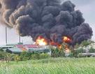 Cháy lớn tại kho của công ty cổ phần thông Quảng Ninh