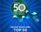 MB  - Top 50 công ty niêm yết tốt nhất Việt Nam 2018
