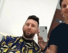 Messi và cầu thủ Argentina đồng loạt xuống tóc trước trận gặp Pháp