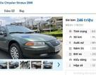 Những chiếc ô tô sedan cũ số tự động này đang rao bán tầm giá 200 triệu đồng tại Việt Nam