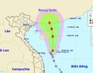 Áp thấp nhiệt đới đổ bộ vào quần đảo Hoàng Sa