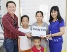 Trao hơn 68 triệu đồng đến người mẹ có 2 con cùng mắc bệnh tan máu bẩm sinh