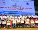 Đà Nẵng: Khai mạc Hội thi Thể thao người khuyết tật toàn quốc