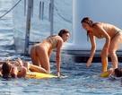 Sylvester Stallone đưa vợ đẹp con xinh đi biển