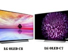 Hai mẫu TV OLED của LG đang đứng đầu bảng xếp hạng của Cnet