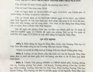 Nữ giáo viên mệt mỏi đi khiếu kiện vì bị kỷ luật, UBND TP Thái Nguyên nói gì?