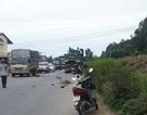 Vợ chồng nghèo chết thảm dưới gầm xe container