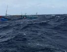 9 ngư dân và tàu cá bị chìm trên biển, 1 người tử vong
