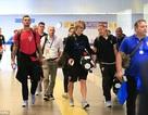 Đội tuyển Croatia rời Moscow để trở về quê nhà