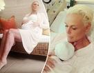 """Sinh con ở tuổi 55, nữ diễn viên Brigitte Nielsen: """"Cuộc đời thật kỳ diệu"""""""
