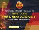 Người dân Quảng Trị nô nức rủ nhau tới Ngày hội Bia Hà Nội 2018