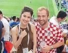 Siêu mẫu Thu Hằng chia sẻ khoảnh khắc đáng nhớ khi được xem trận chung kết World Cup 2018