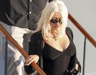 Christina Aguilera tăng cân vẫn xinh đẹp