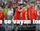 Báo chí thế giới sốc với thất bại của Tây Ban Nha trước Nga