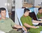 Đại úy công an 22 lần hiến máu tình nguyện