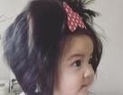 Nhật Bản: Bé 7 tháng tuổi có mái tóc bồng bềnh như mây thu hút vạn người xem