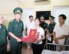 Thăng quân hàm cho 2 chiến sỹ biên phòng bị thương khi truy bắt tội phạm ma tuý