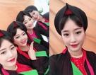 Dàn thiếu nữ Bắc Ninh mặc áo tứ thân tới tấp nhận được lời khen xinh đẹp
