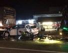 Tai nạn liên hoàn, 1 người chết, 11 người bị thương