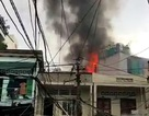 TPHCM: Cháy nhà áp chợ, người dân chạy tán loạn