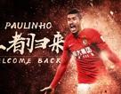 Rời khỏi Barcelona, Paulinho trở lại Trung Quốc thi đấu