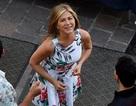 Jennifer Aniston xinh đẹp tại phim trường