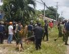 Hàng trăm học viên cai nghiện cầm gậy gộc, gạch đá tràn ra kín đường
