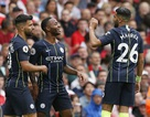 Arsenal 0-2 Man City: Sterling, B.Silva tỏa sáng