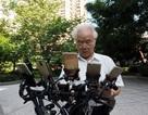 """Ông lão 70 tuổi vẫn ngày đêm đạp xe đi """"săn"""" Pokemon quý hiếm"""