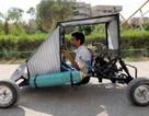 Nhóm sinh viên tự chế xe chạy bằng… không khí