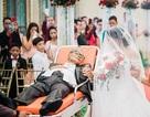 Người cha hấp hối thực hiện mong ước cuối cùng trong ngày cưới của con