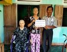 Thêm gần 20 triệu đồng đến với người phụ nữ ung thư nuôi mẹ già yếu