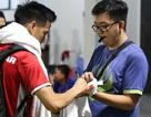 CĐV Indonesia vượt 400km xin chữ ký Văn Quyết, Duy Mạnh