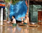 Nhiều vùng ở Nghệ An vẫn mênh mông nước lũ