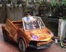"""Ngắm """"siêu xe"""" Lamborghini bằng gỗ độc đáo giá 20 triệu của 9x Hà Nội"""