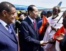 Tổng thống Ethiopia đích thân ra sân bay đón Chủ tịch nước Trần Đại Quang