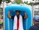 Quyết đấu Olympic Việt Nam, cầu thủ Syria hồi phục thể lực ngay trên sân tập