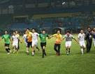 Giành vé vào bán kết, Olympic Việt Nam ăn mừng đầy cảm xúc cùng cổ động viên