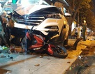 Đại úy CSGT gây tai nạn khiến 2 người tử vong