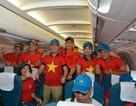 """5 chuyến bay """"chuyên cơ"""" đưa CĐV Việt Nam đi Indonesia cổ vũ bán kết bóng đá"""