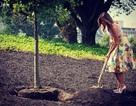 Đệ nhất phu nhân Melania Trump hứng chỉ trích vì đi giày cao gót làm vườn
