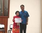 Nữ sinh Việt giành giải thưởng cao trong cuộc thi âm nhạc châu Á