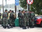 An ninh thắt chặt trước trận Olympic Việt Nam - Olympic Hàn Quốc