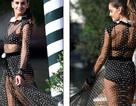 Izabel Goulart diện váy xuyên thấu gợi cảm