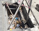Đề nghị công an điều tra việc hàng loạt nắp hố ga bị mất trộm
